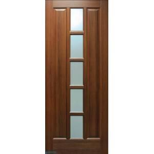 Дверь Квадрат ПВХ ПО со стеклом