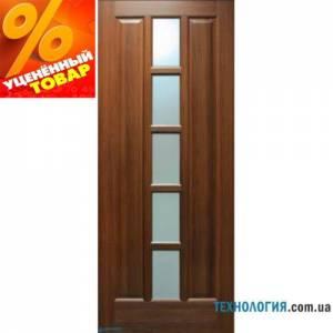 Дверь Квадрат ПВХ ПО со стеклом второй сорт