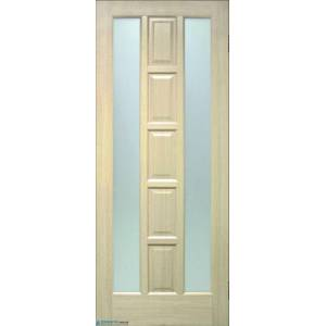 Дверь Квадрат ПВХ ПОО со стеклом