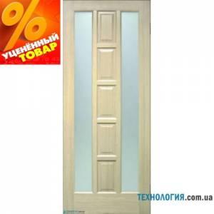 Дверь Квадрат ПВХ ПОО со стеклом второй сорт