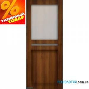 Дверь Палермо 2 ПВХ со стеклом второй сорт