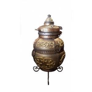"""Тандыр печь """"Чингиз"""" переносной диаметр горловины 28 см."""