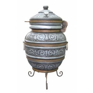 """Тандыр печь """"Чингиз"""" переносной диаметр горловины 29 см."""