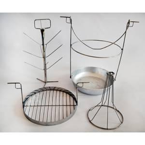 Комплект трансформер 3 в 1-ом для тандыра с горловиной диаметром 200 мм с алюминиевой сковородкой