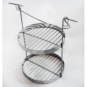 Сетка двух ярусная для тандыра с горловиной диаметром 250 мм
