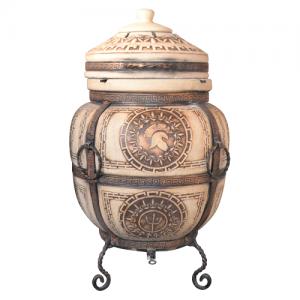 """Тандыр печь дизайн """"Античный"""" 75 литров"""