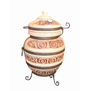 """Тандыр печь """"Чингиз-С"""" переносной диаметр горловины 29 см."""