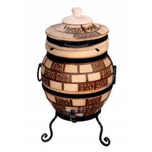 """Тандыр печь дизайн """"Кирпич"""" 45 литров"""