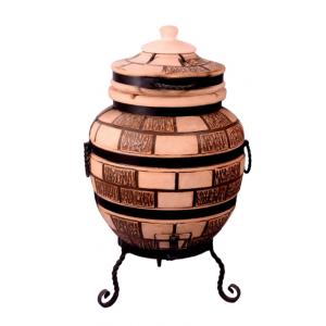 """Тандыр печь дизайн """"Кирпич"""" 65 литров"""