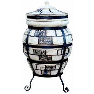 """Тандыр печь дизайн """"Кирпич"""" 85 литров"""