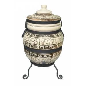 """Тандыр печь """"Дизайн греческий"""" 45 литров"""