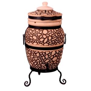"""Тандыр печь дизайн """"Булыжник"""" 50 литров"""