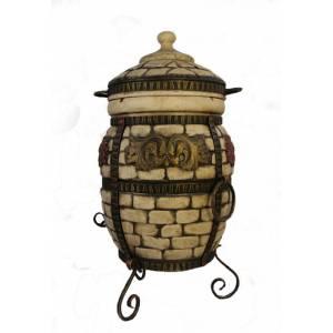 """Печь тандыр """"Венеция-М"""" объём 50 литров с поворотно-откидной крышкой"""