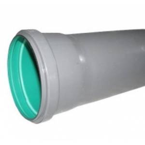 Труба для внутренней канализации Eвропласт 110 мм длина 1000 мм