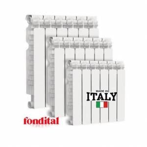 Алюминиевый радиатор алюминиевый FONDITAL MASTER S5 ALETERNUM 500-100 (алюминий с покрытием Aleternum)