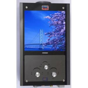 Газовая колонка Darya 10L стекло (картинка) LCD (дымоходная пьезо, 10л/мин)