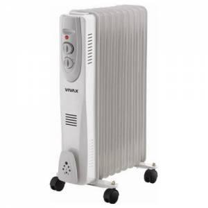 Маслянный обогроеватель (радиатор) SANICO OH07S-9G 2 кВт 9 секций, напольный