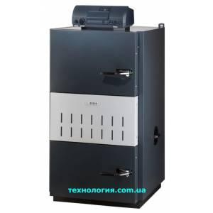 Котел твердотопливный пиролизный стальной BOSH Solid 5000 W-2 SFW 21 HF(21квт)
