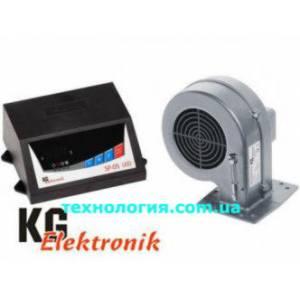 Комплект регулятор температуры KG Elektronik SP-05 LED + вентилятор DP02