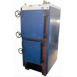 Котел твердотопливный Корди КОТВ - 100М кВт, сталь 4 мм, уголь, дрова, брикеты