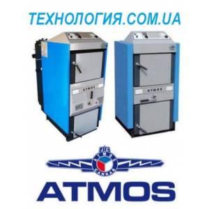 Котел дровяной пиролизный ATMOS DC 18S (20 кВт)