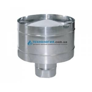 Дефлектор для вентиляционных систем  из нержавейки диаметр 100мм