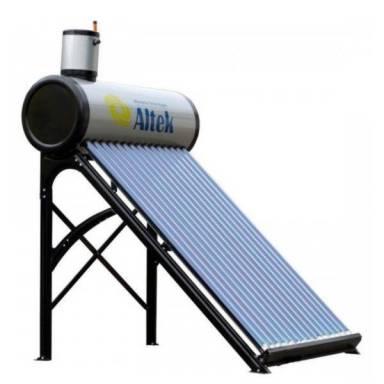 Вакуумный солнечный коллектор Altek SP-C-15 сезонного типа