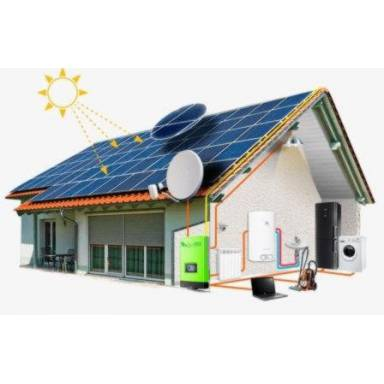 Солнечная сетевая электростанция Altek мощностью 10 кВт