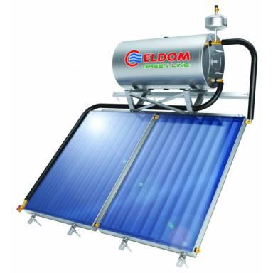 Всесезонный солнечный термосифонный коллектор ELDOM TS200C