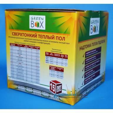 Тёплый пол-кабель нагревательный,Теплолюкс➣Green Box-150-длина 10 метров,площадь 1,3 метра квадратных,мощность 140 Вт★нагревательный двухжильный экрановый кабель