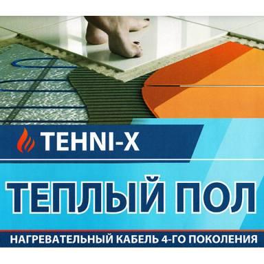 """Тёплый пол-кабель нагревательный """"TEHNI-X SHDN-20-DD""""- длинна 60 метров,площадь 12 метров квадратных,мощность 1200 Вт★нагревательный двухжильный кабель с карбоновым волокном ★термостат в комплекте"""