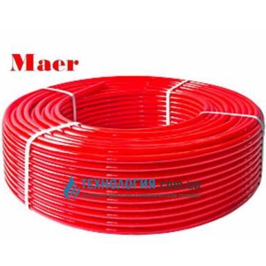 Труба из сшитого полиэтилена для теплого пола Maer PE-X16mm x 2.0mm
