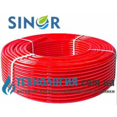 Водяная  полиэтиленовая труба для теплого пола SINOR PE-X с бесплатной доставкой по Украине