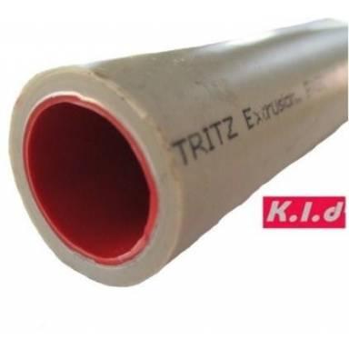 Композитная полипропиленовая труба K.L.D. stabi (алюминий) д.40 мм