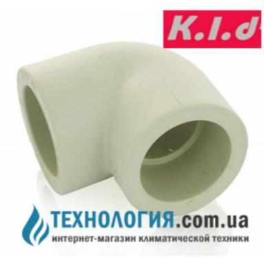 Уголок колено K.l.d 90 гр диаметром 20мм