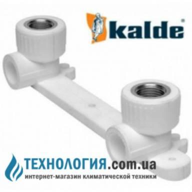 """Kalde настенный комплект для смесителей с внутренней резьбой 20x1/2"""", цвет белый"""
