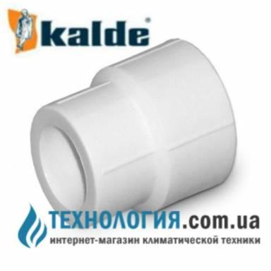 Kalde муфта  соединительная с переходными диаметрами д. 25-20 мм, цвет белый
