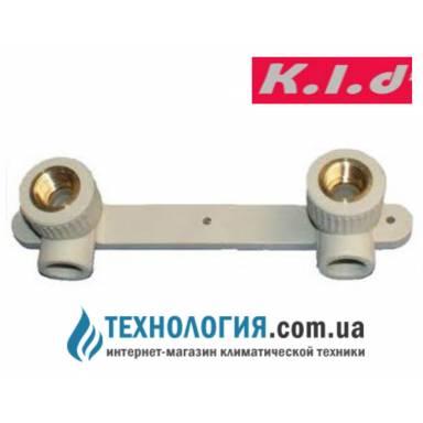 """K.l.d настенный комплект для смесителей с внутренней резьбой 20x1/2"""""""