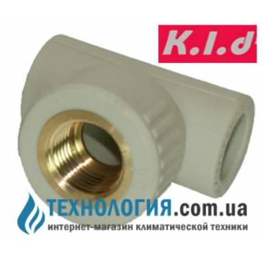 K.l.d комбинированный тройник с внутренней резьбой 20x1/2