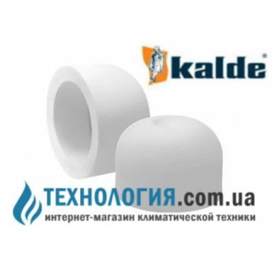 Белая заглушка Kalde диаметром 20 мм