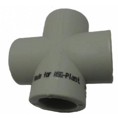 ASG крестовина с равными диаметрами 40-40-40-40