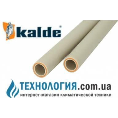 Труба полипропиленовая Kalde FIBER(стекловолокно) д. 20 мм
