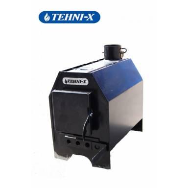 Отопительная печь длительного горения Tehni-X ПДГ 05 мощность 5 кВт