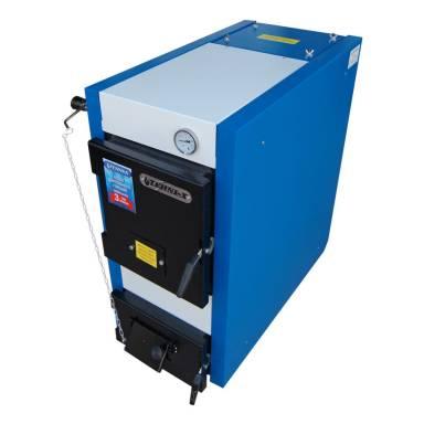 Котел твердотопливный длительного горения Tehni-x КОТВ 26-30-ДГ, мощность 26 кВт-дрова 30 кВт- уголь