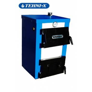 Комбинированный электро-твердотопливный котёл Tehni-X КОТВ 14-Эконом мощность 14 кВт