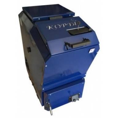 Корди КОТВ-26 кВт котел длительного горения,с верхней загрузкой,сталь 5 мм модернизированный теплообменник,мощность 26 кВт