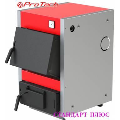 Электро-твердотопливный котёл Протеч ТТ 18с Стандарт Плюс комбинированный,сталь 3 мм,18 кВт,чугунные колосники