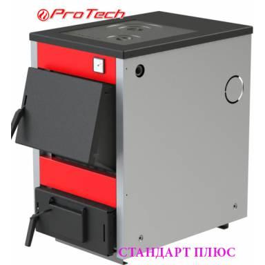 Электро-твердотопливный котёл Протеч ТТП 15с Стандарт Плюс с варочной поверхностью,сталь 3 мм,15 кВт,чугунные колосники