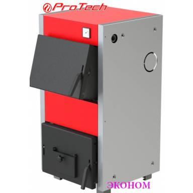 Электро-твердотопливный котёл Протеч ТТ 15с Эконом ,сталь 2 мм,15 кВт,чугунные колосники