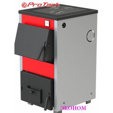 Электро-твердотопливный котёл Протеч ТТП 12с Эконом с варочной поверхностью,сталь 2 мм,12 кВт,чугунные колосники